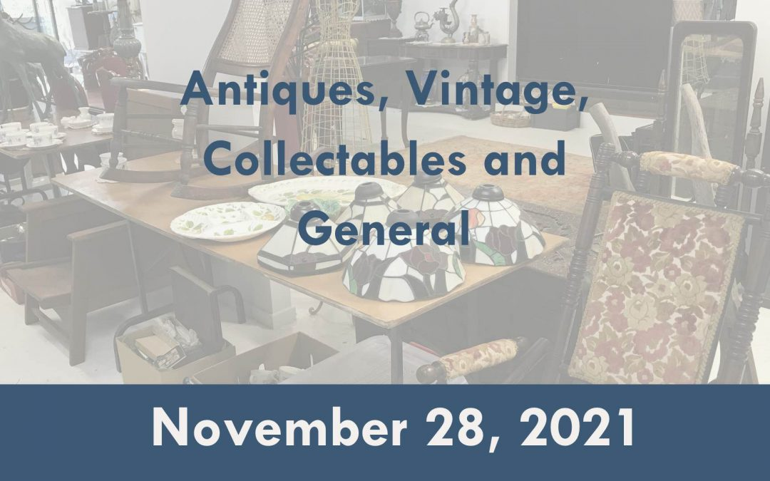 Antiques, Vintage, Collectables, Jewellery and General Auction