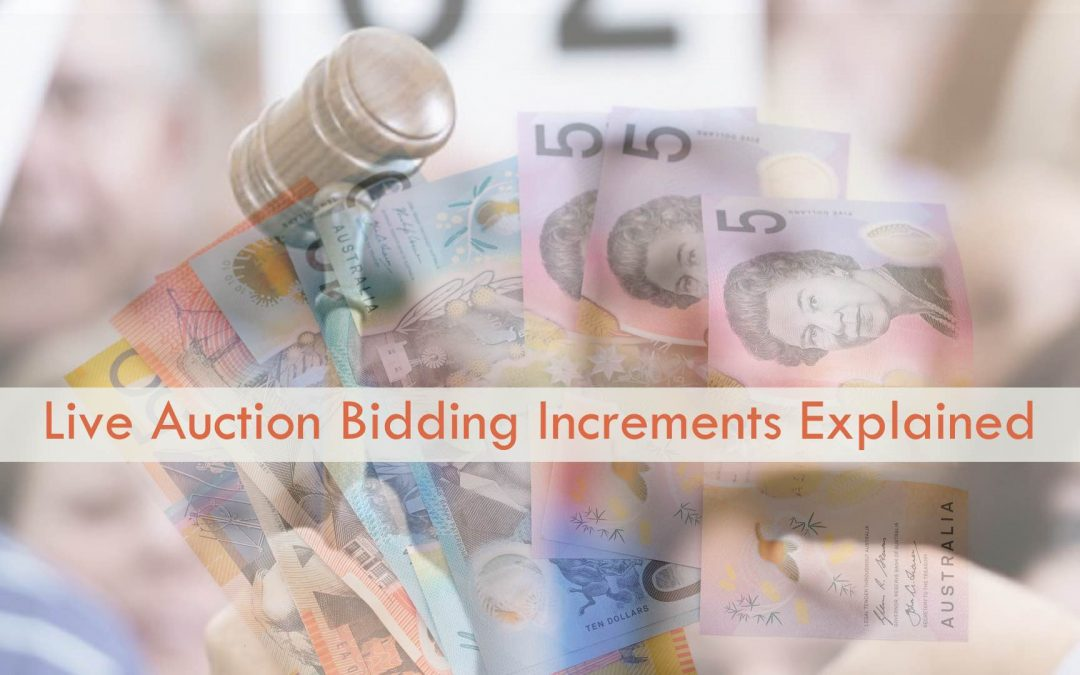 Live Auction Bidding Increments Explained
